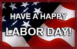 Labor Day - All Courts are closed
